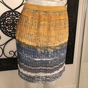 Elie Tahari Pleated Skirt